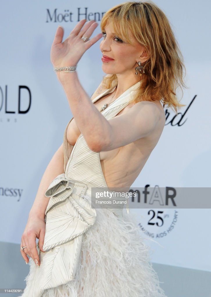 <a gi-track='captionPersonalityLinkClicked' href=/galleries/search?phrase=Courtney+Love&family=editorial&specificpeople=156418 ng-click='$event.stopPropagation()'>Courtney Love</a> attends amfAR's Cinema Against AIDS Gala during the 64th Annual Cannes Film Festival at Hotel Du Cap on May 19, 2011 in Antibes, France.