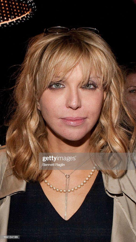 Courtney Love attends Dedon Celebrates New York Hosted By Bruce Weber And Bobby Dekeyser at Nouvel Chelsea on September 15, 2010 in New York City.
