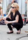 Courtney Love attends the 2011 Northside Music Festival at McCarren Park on June 18 2011 in New York City