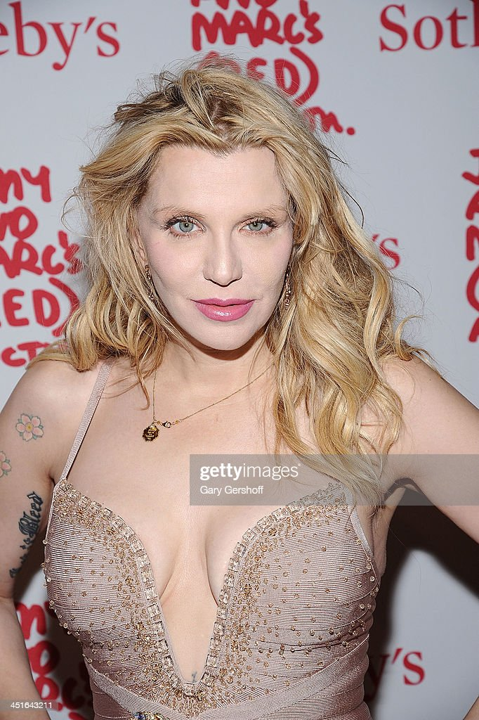 <a gi-track='captionPersonalityLinkClicked' href=/galleries/search?phrase=Courtney+Love&family=editorial&specificpeople=156418 ng-click='$event.stopPropagation()'>Courtney Love</a> attends the 2013 (RED) Auction Celebrating Masterworks Of Design and Innovation at Sotheby's on November 23, 2013 in New York City.