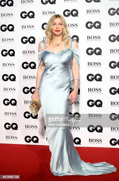 Courtney Love attends the GQ Men Of The Year Awards at Tate Modern on September 5 2017 in London England