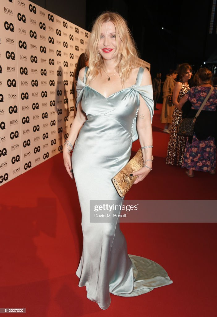 Courtney Love attends the GQ Men Of The Year Awards at the Tate Modern on September 5, 2017 in London, England.