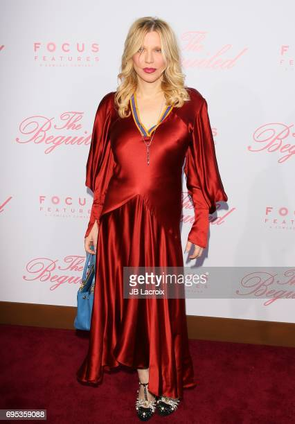 Courtney Love attends the premiere of 'The Beguiled' on June 12 2017 in Los Angeles California