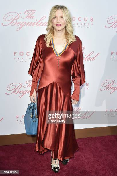 Courtney Love attends the US Premiere Of 'The Beguiled' Arrivals at Directors Guild Of America on June 12 2017 in Los Angeles California