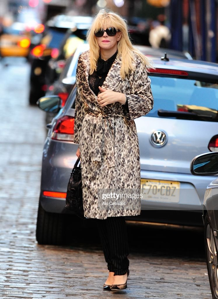 <a gi-track='captionPersonalityLinkClicked' href=/galleries/search?phrase=Courtney+Love&family=editorial&specificpeople=156418 ng-click='$event.stopPropagation()'>Courtney Love</a> is seen in Soho on September 23, 2013 in New York City.