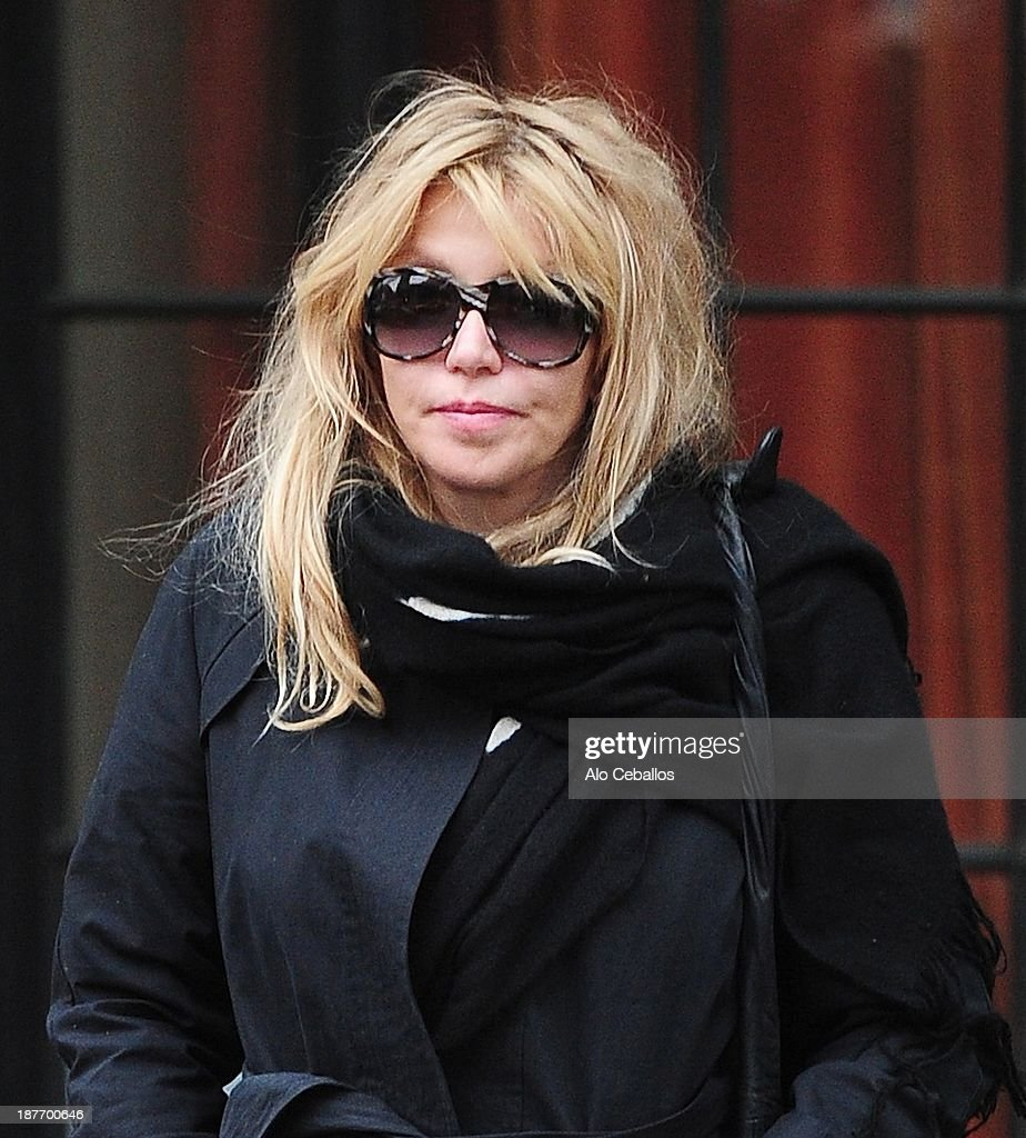 <a gi-track='captionPersonalityLinkClicked' href=/galleries/search?phrase=Courtney+Love&family=editorial&specificpeople=156418 ng-click='$event.stopPropagation()'>Courtney Love</a> is seen in the East Village on November 11, 2013 in New York City.