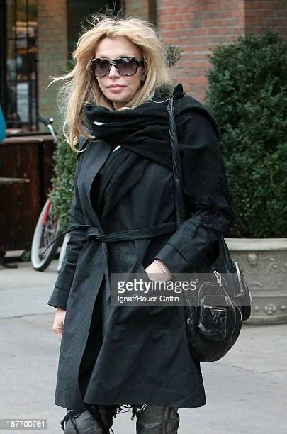 Courtney Love is seen on November 11 2013 in New York City