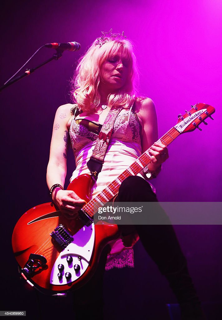 Courtney Love performs 'You Know My Name' tour at Enmore Theatre on August 24 2014 in Sydney Australia