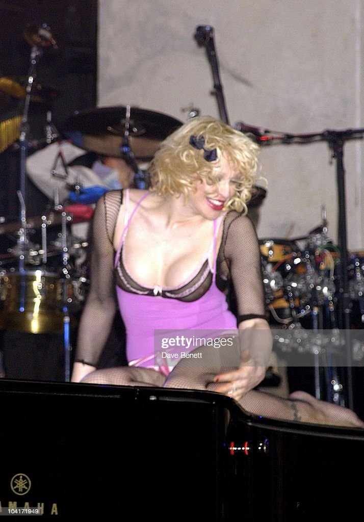 Courtney Love, The Old Vic Theatre Benefit Party Held At The Old Vic Theatre London.