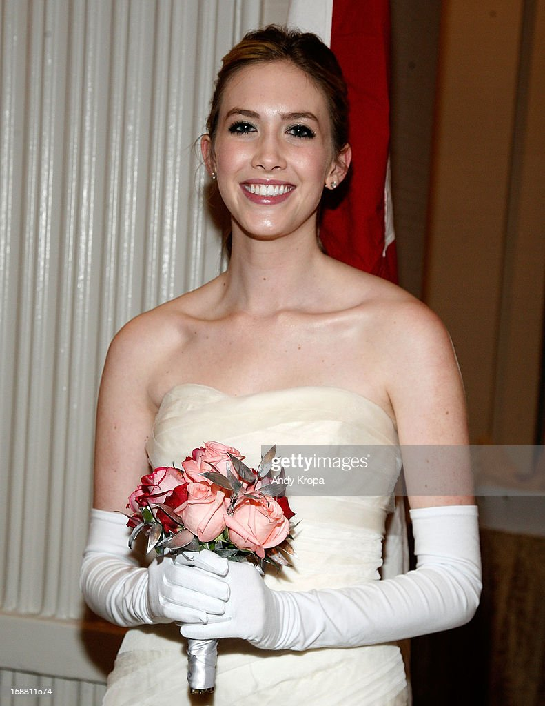 Courtney Marie Walls attends The 58th International Debutante Ball at The Waldorf-Astoria on December 29, 2012 in New York City.