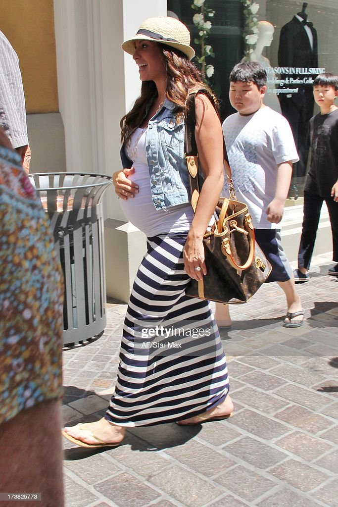 Courtney Mazza as seen on July 17, 2013 in Los Angeles, California.