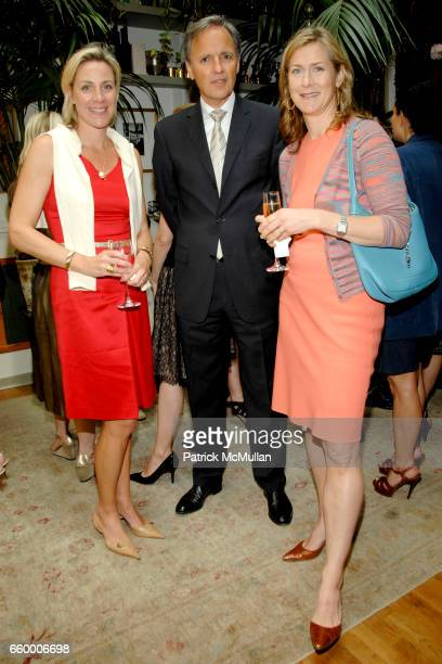 Courtney Moss Patrice Kretz and Julie Wurts attend CHANTELLE 60th ANNIVERSARY LUNCHEON at Le Grenouille on May 15 2009 in New York City