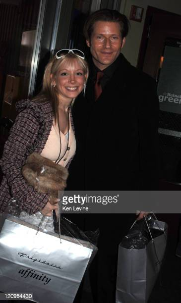 Courtney Peldon and Crispin Glover during 2006 Park City General Motors in Deer Valley Courtney Peldon and Crispin Glove in Deer Valley Utah United...