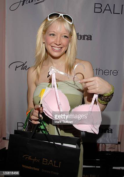 Courtney Peldon during Wonderbra at the Silver Spoon Beauty Buffet Day Two in Beverly Hills California United States