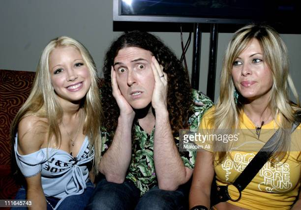 Courtney Peldon Weird Al Yankovic and Nicole Eggert