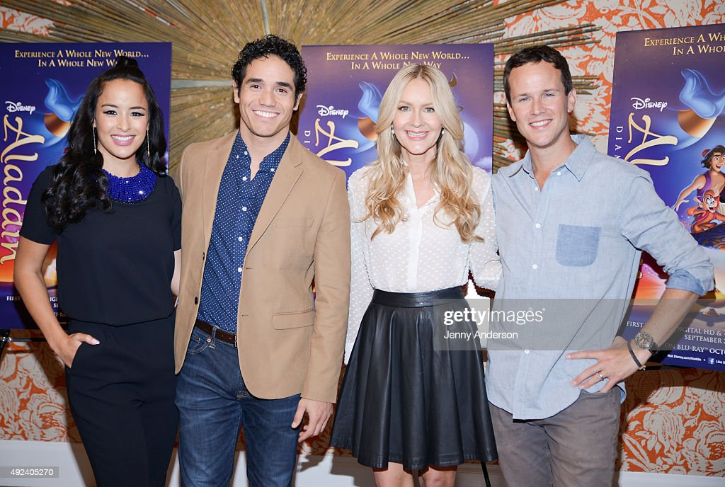 "Disney's ""Aladdin"" Broadway Press Day"