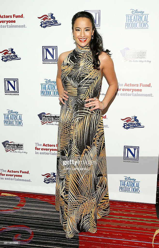 Courtney Reed attends after party for The Actors Fund Gala Celebrating 20 Years Of Disney On Broadway at The New York Marriott Marquis on April 28, 2014 in New York City.