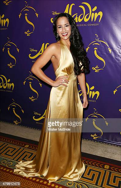 Courtney Reed attends the 'Aladdin' On Broadway Opening Night after party at Gotham Hall on March 20 2014 in New York City