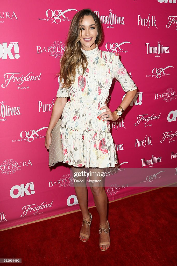 Courtney Sixx arrives at the OK Magazine's So Sexy LA at the Skybar at Mondrian on May 18 2016 in West Hollywood California