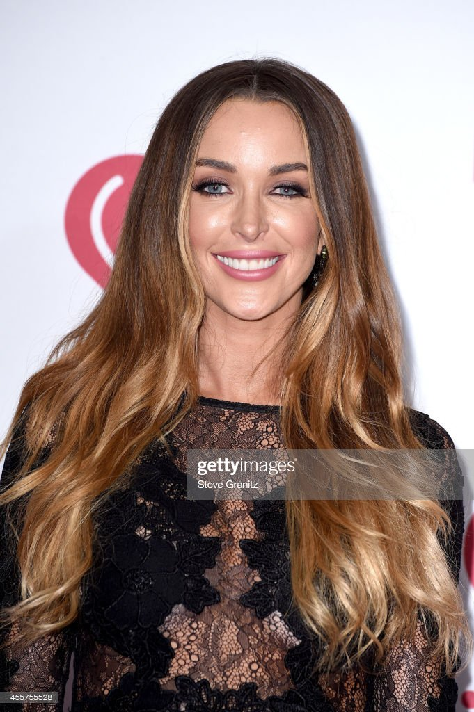 Courtney Sixx attends night 1 of the 2014 iHeartRadio Music Festival at MGM Grand Garden Arena on September 19 2014 in Las Vegas Nevada