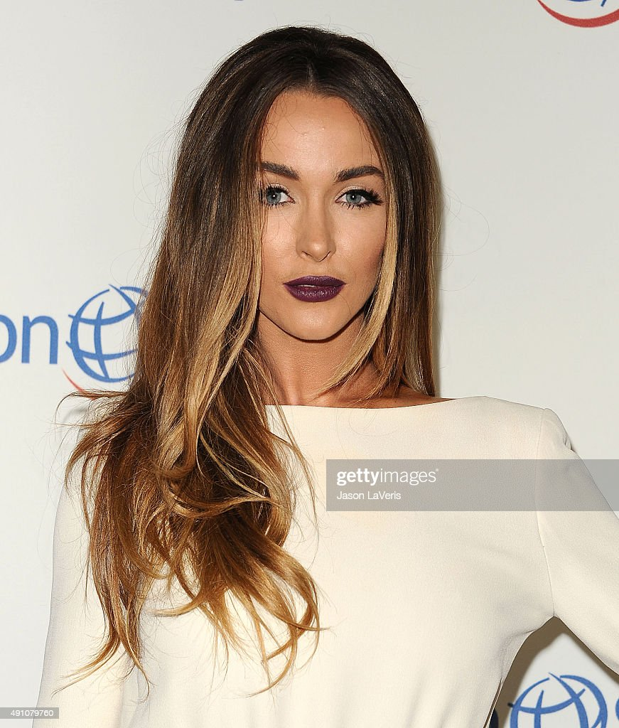 Courtney Sixx attends Operation Smile's 2015 Smile Gala at the Beverly Wilshire Four Seasons Hotel on October 2 2015 in Beverly Hills California