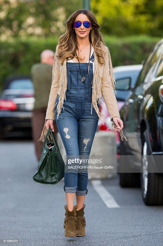 Courtney Sixx is seen on February 23 2016 in Los Angeles California