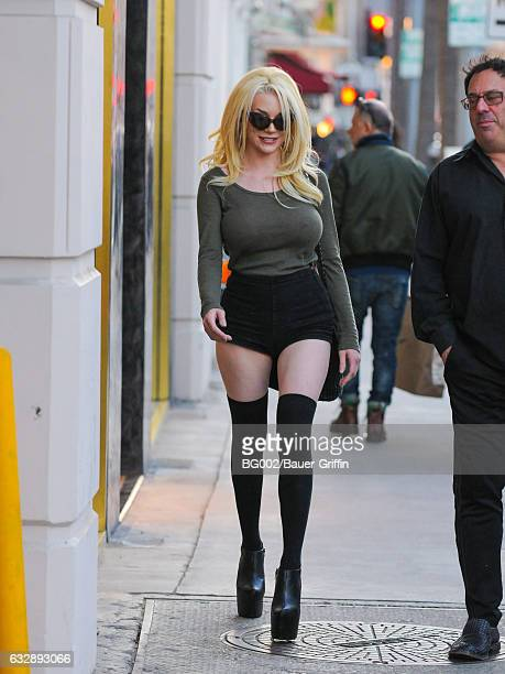 Courtney Stodden is seen on January 27 2017 in Los Angeles California