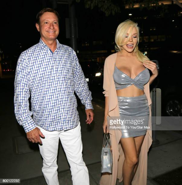 Courtney Stodden is seen on June 22 2017 in Los Angeles CA