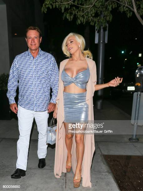 Courtney Stodden is seen on June 22 2017 in Los Angeles California