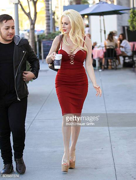 Courtney Stodden is seen on September 15 2016 in Los Angeles California