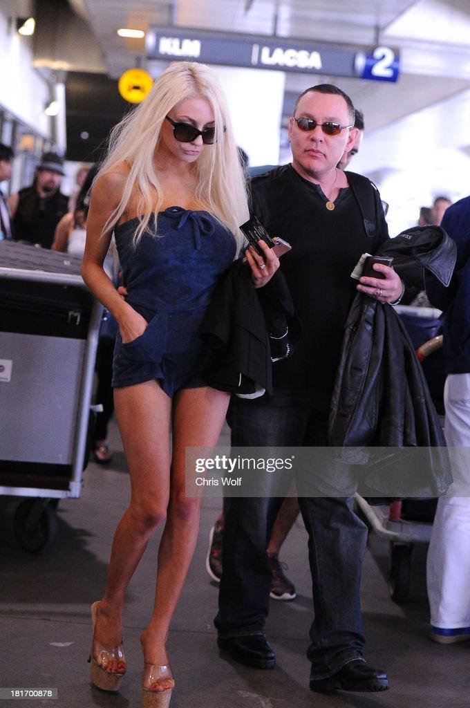 Celebrity Sightings In Los Angeles - September 23, 2013