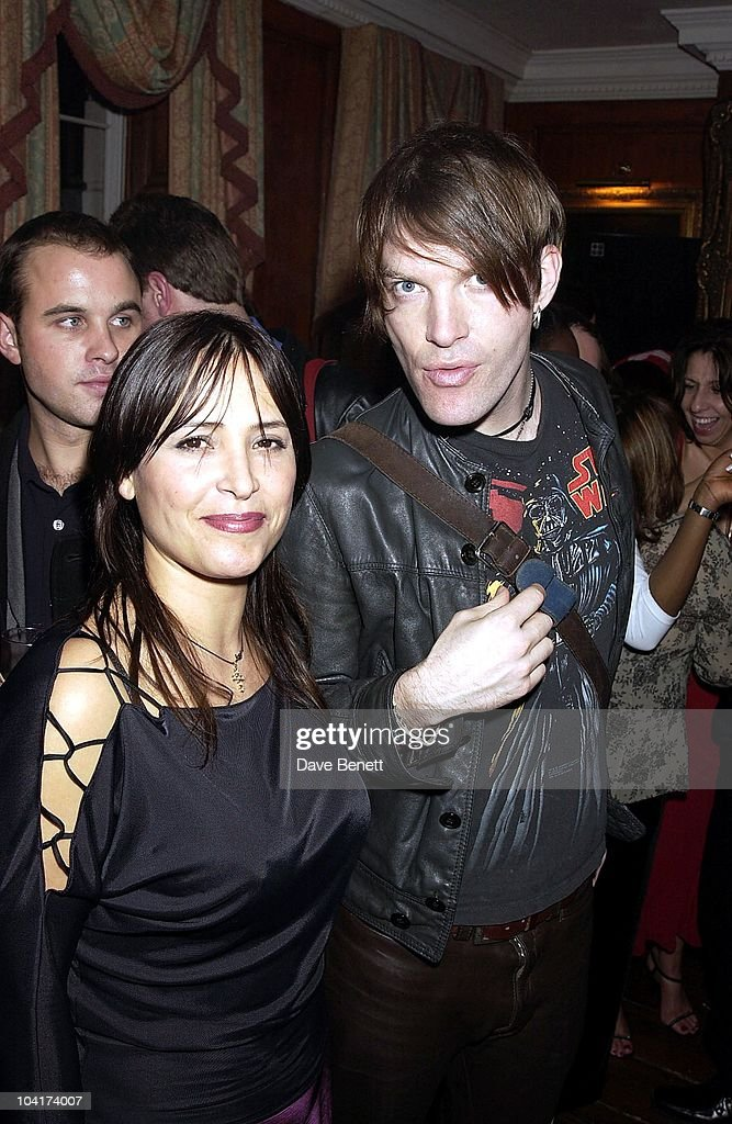 Courtney Taylor, The Premiere Of New American Movie 'The Royal Tenenbaums' At The Ucg Haymarket ,and The Party At 23 Craven St, London