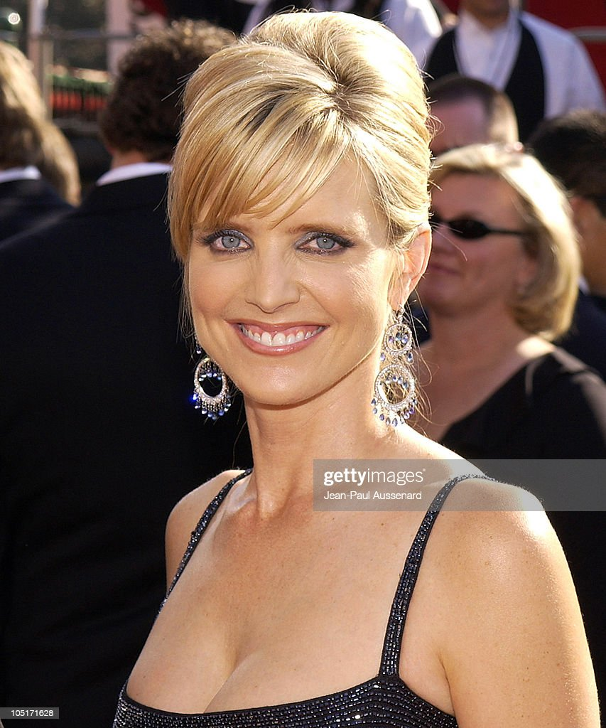 Courtney Thorne Smith during The 55th Annual Primetime Emmy Awards - Arrivals at The Shrine Theater in Los Angeles, California, United States.