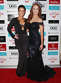 Courtney Thorpe Miss World Australia 2014 and Tess Alexander Miss World Australia 2015 attend the Miss World Australia 2016 National Final at Crown...