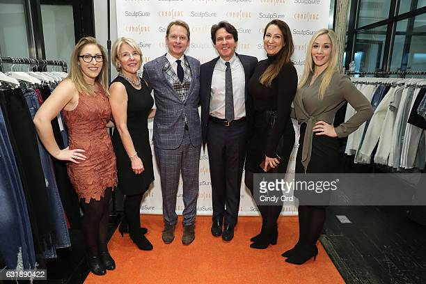 Courtney Wetmore Cathleen Alaimo Carson Kressley Dr Dennis Gross Katie Collins and Erika Pegg attend the 'SculpSure Day with the Denim Doctor' event...