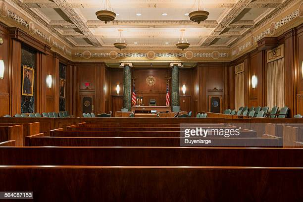 Courtroom The Jack Brooks Federal Building in Beaumont Texas