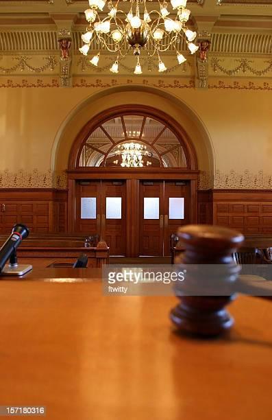 Aula di tribunale verticale
