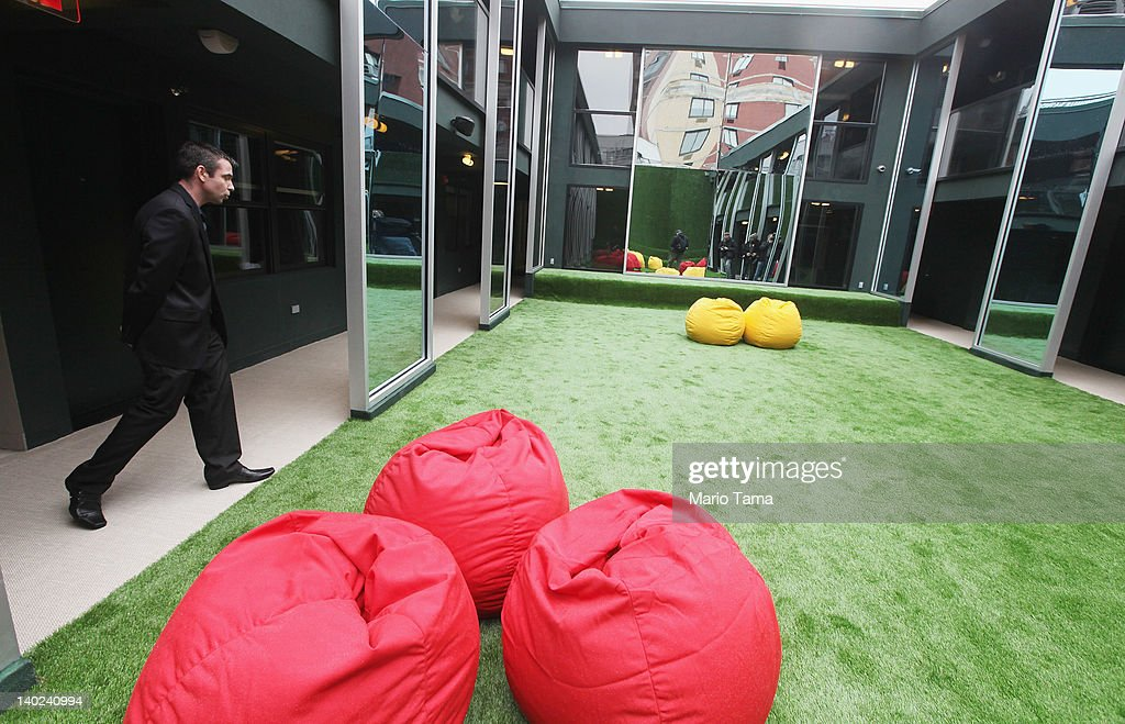 A courtyard is seen at a new gay resort hotel, THE OUT NYC, in midtown Manhattan after the ribbon-cutting ceremony on March 1, 2012 in New York City. The 105-room gay urban resort, which is 'straight-friendly,' is set to open March 1 in the Hell's Kitchen neighborhood and features a nightclub, spa, restaurant and outdoor spaces. It is being billed as New York City's first gay hotel.