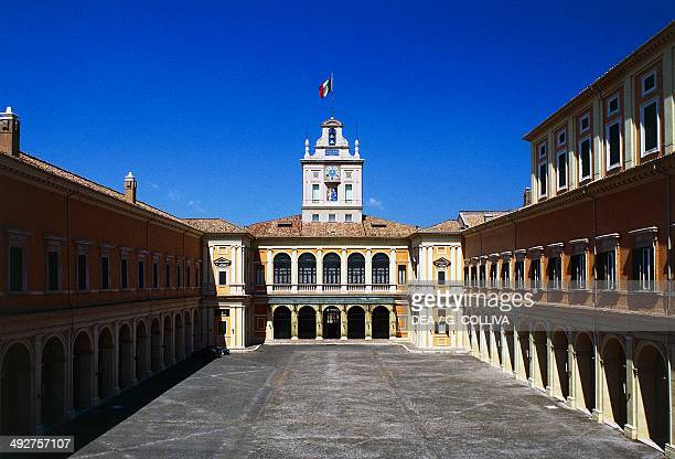 Courtyard of the Quirinal Palace Rome Lazio Italy