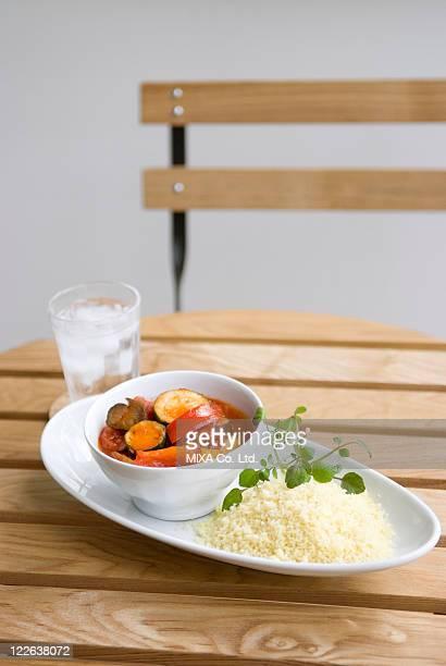 Couscous and Ratatouille