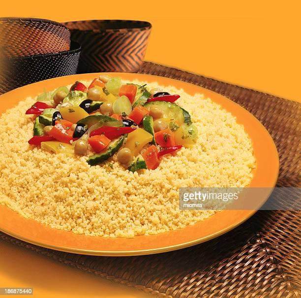 couscous avec légumes