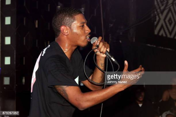 Cousin Stizz performs at SOB's on November 16 2017 in New York City