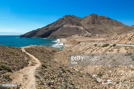 Cove at Cabo del Gata, Almeria, Spain : Stock Photo