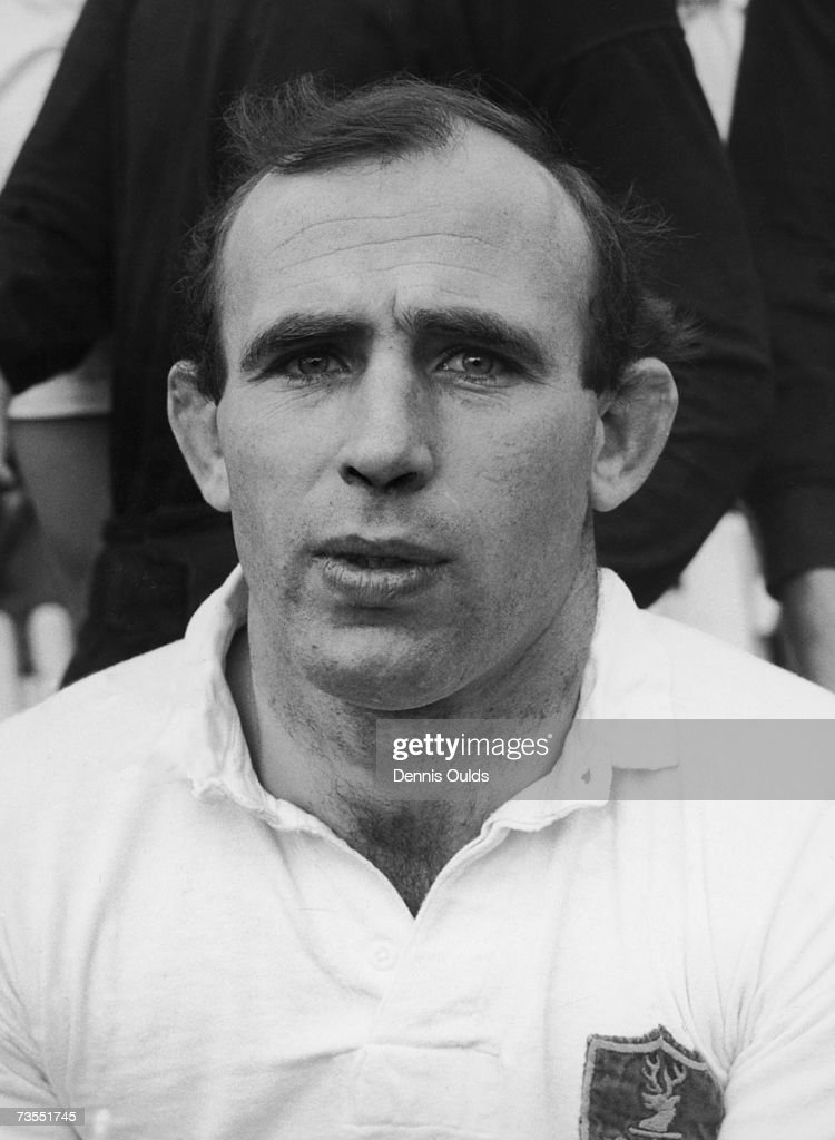 Coventry and England rugby player P. G. D. Robbins, 20th November 1963.