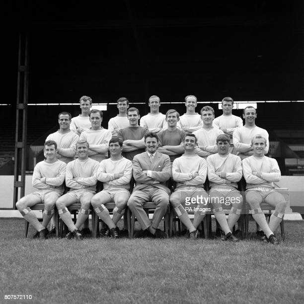 Coventry City Football Club back row left to right Brian Hill John Mitten Alan Harris Ron Farmer and Dietmar Bruck Middle row George Curtis Kenneth...