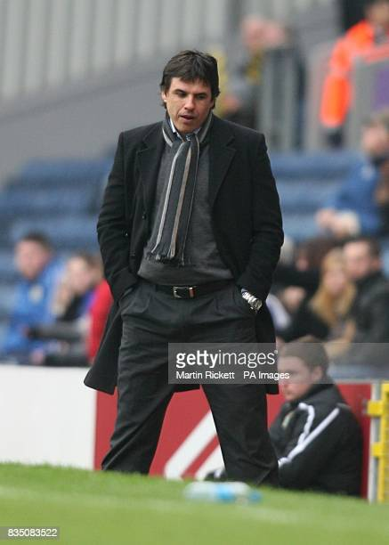 Coventry City manager Chris Coleman on the touchline