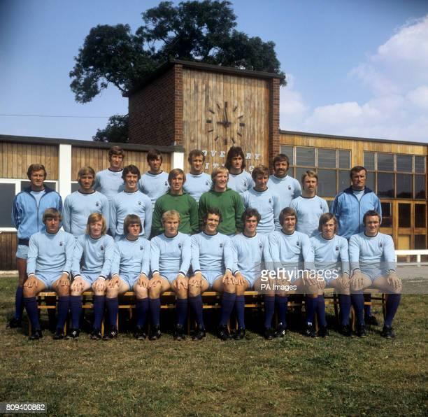 Coventry City squad for the 197172 season Geoff Strong Mick Coop Brain Hill Dennis Mortimer and Ernie Hunt Bill Asprey Brian Joicey Billy Rafferty...