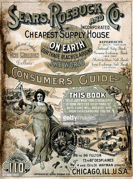 Cover of a Sears Roebuck Co Consumer's Guide Fall 1900