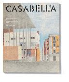 'Cover of Casabella N 479 April 1982 20th Century graphic 31 x 245 cm Italy Lombardy Milan Arnoldo Mondadori Editore Whole artwork view Black and...