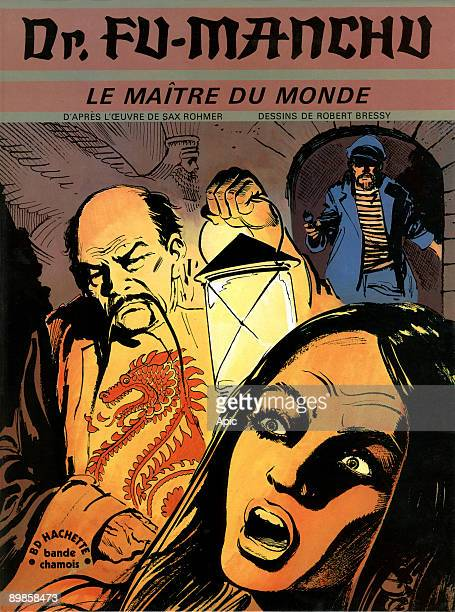 Cover of comic book Dr Fu Manchu The master of the world of work after the drawings of Sax Rohmer adaptation of Robert Bressy Juliette Benzoni...